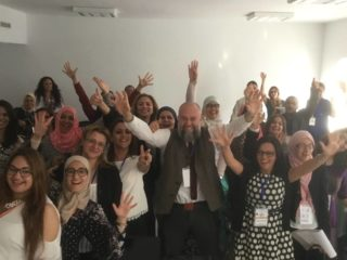 Gallery Teachers in action! Thomas Jones in Tunis