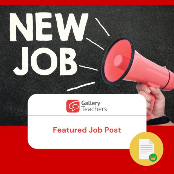 Featured Job Post