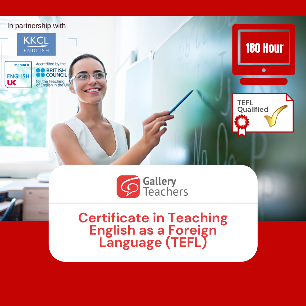 GT TEFL Certification Course 180h