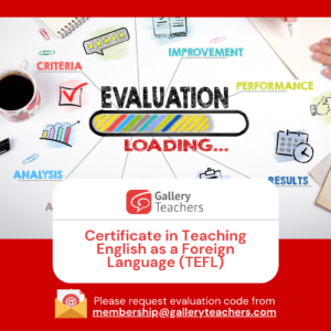 GT Certification Evaluation