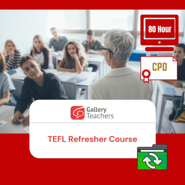 Gt Tefl Refresher Course Product Photo