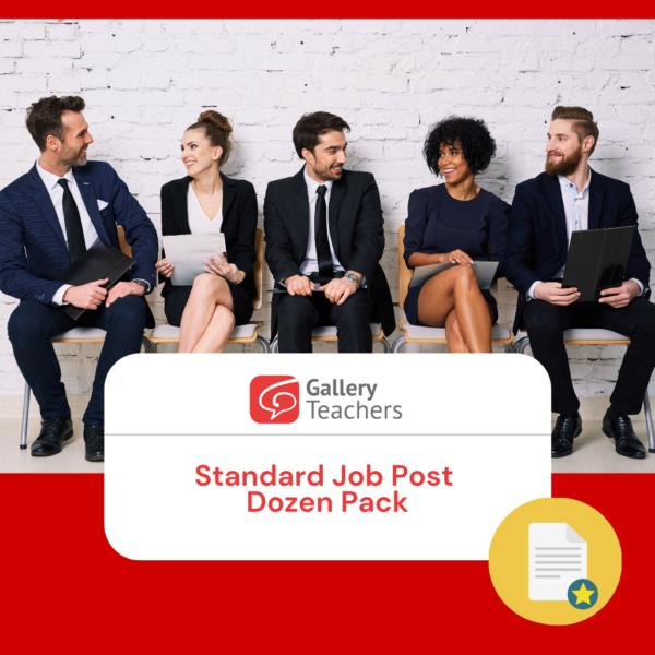Standard Job Post Dozen Pack